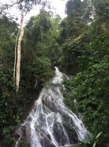 Water cascada!